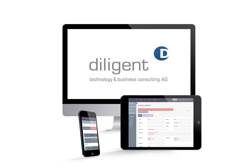diligent crm systeme